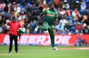 Rubel Hossain celebrates a wicket, Bangladesh v India, World Cup 2019 warm-up, Cardiff, May 28, 2019