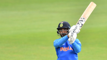 KL Rahul cuts during his century
