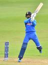 KL Rahul cuts during his century, Bangladesh v India, World Cup 2019 warm-up, Cardiff, May 28, 2019