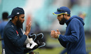 Leggies union: Adil Rashid and Imran Tahir cross paths at training, The Oval, May 29, 2019