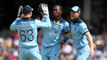 Jofra Archer bowled with venom, picking up three key wickets
