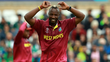 Andre Russell was on fiery form