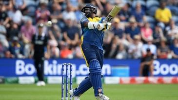 The Sri Lanka batsmen struggled against the short-pitched stuff