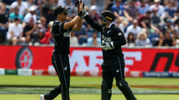 Trent Boult only took one wicket but helped set the tone in the field
