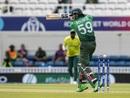 Soumya Sarkar of Bangladesh survives a near miss , Bangladesh vs South Africa, World Cup 2019, The Oval, June 2, 2019