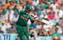 Soumya Sarkar hits a boundary, Bangladesh v South Africa, World Cup 2019, The Oval, June 2, 2019