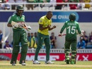 Andile Phehlukwayo celebrates after taking the wicket of Mushfiqur Rahim, Bangladesh v South Africa, World Cup 2019, The Oval, June 2, 2019