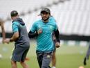 Hasan Ali goes through his warm-up routine, World Cup 2019, Trent Bridge, June 2, 2019