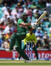 Mahmudullah plays a shot as he guides Bangladesh to their highest ever WC total, Bangladesh v South Africa, World Cup 2019, The Oval, June 2, 2019