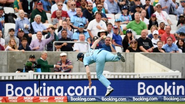 The catch that should not be: Ben Stokes takes a stunner