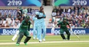 Jofra Archer looks on as Fakhar and Imam take a run, England v Pakistan, World Cup 2019, Trent Bridge, June 3, 2019