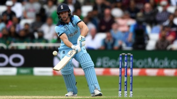 Jos Buttler goes for the scoop