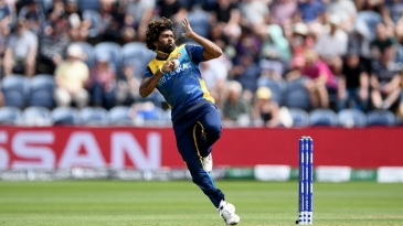 Lasith Malinga in action in Sri Lanka's World Cup opener against New Zealand
