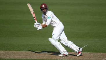Ben Foakes turns one down the leg side