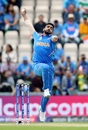 Jasprit Bumrah in his delivery stride, India v South Africa, Southampton, World Cup 2019, June 5, 2019