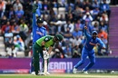 MS Dhoni and Rohit Sharma appeal for an LBW dismissal against JP Duminy, India v South Africa, Southampton, World Cup 2019, June 5, 2019