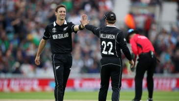 Matt Henry took four wickets