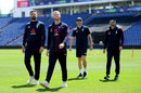 England's fast bowlers check out the conditions in Cardiff, World Cup, June 6, 2019
