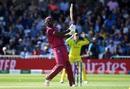 Jason Holder plays a shot, Australia v West Indies, World Cup 2019, Trent Bridge, June 6, 2019