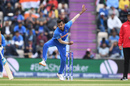 Yuzvendra Chahal bowls to Rassie van der Dussen, India v South Africa, Southampton, World Cup 2019, June 5, 2019