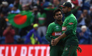 Mehidy Hasan was held back by his captain but claimed 2 for 67, England v Bangladesh, World Cup 2019, Cardiff, June 8, 2019