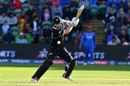 Kane Williamson plays a shot, Afghanistan v New Zealand, World Cup 2019, Taunton, June 8, 2019
