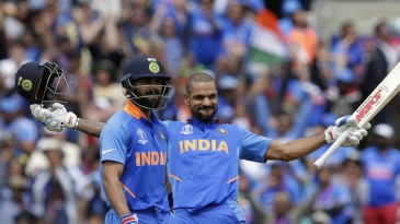 Shikhar Dhawan raises a 17th ODI ton
