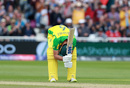 Nathan Coulter-Nile pulls the ball to the boundary, Australia v West Indies, World Cup 2019, Trent Bridge, June 6, 2019