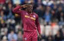At ease: Sheldon Cottrell provided the early breakthrough for West Indies, South Africa vs West Indies, World Cup 2019, Southampton, June 10, 2019