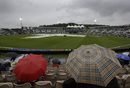 Fans were left waiting after a rain interruption, South Africa vs West Indies, World Cup 2019, Southampton, June 10, 2019