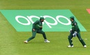 Asif Ali drops a catch as Sarfaraz Ahmed looks on, Australia v Pakistan, World Cup 2019, Taunton, June 12, 2019
