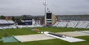 The covers remain on, India v New Zealand, World Cup 2019, Trent Bridge, June 13, 2019