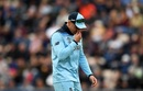 Jason Roy leaves the field after appearing to pick up an injury, England v West Indies, World Cup 2019,  Southampton, June 14, 2019