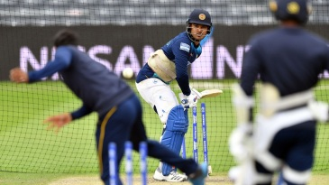 The Sri Lankans haven't been too thrilled with their training facilities
