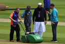 Sarfaraz Ahmed, Inzamam-ul-Haq and Mickey Arthur keep a close eye on the pitch, World Cup 2019, Old Trafford, June 14, 2019