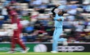 Jofra Archer of England runs up to bowl, England v West Indies, World Cup 2019,  Southampton, June 14, 2019