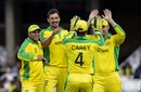 Mitchell Starc led the way as Sri Lanka's middle order caved in, Australia v Sri Lanka, World Cup 2019, The Oval