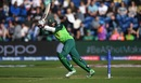 Hashim Amla plays a shot, Afghanistan v South Africa, World Cup 2019, Cardiff, June 15, 2019