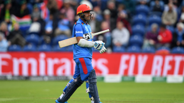 Afghanistan's batsmen came and went in a hurry