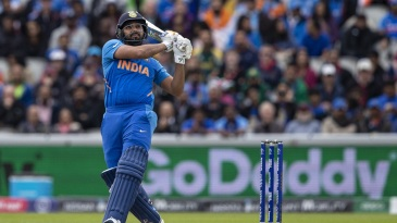 Rohit Sharma made a confident start