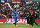 Rohit Sharma's 85-ball ton gave India a superb start, India v Pakistan, World Cup 2019, Manchester, June 16, 2019