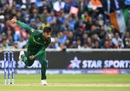 Mohammad Amir was the pick of the Pakistan bowlers, India v Pakistan, World Cup 2019, Old Trafford, June 16, 2019