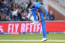 Vijay Shankar is ecstatic after taking his first World Cup wicket, India v Pakistan, World Cup 2019, Manchester, June 16, 2019