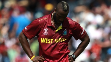 A downcast Andre Russell ponders his options