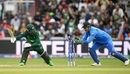 Fakhar Zaman survives a stumping by MS Dhoni, India v Pakistan, World Cup 2019, Manchester, June 16, 2019