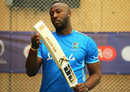Andre Russell prepares to bat during a nets session, World Cup 2019, Hampshire Bowl, Southampton, England, June 13, 2019