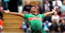 Mohammad Saifuddin celebrates a wicket, Bangladesh v West Indies, World Cup 2019, Taunton, June 17, 2019