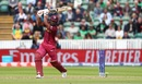 Evin Lewis helped West Indies rebuild after they lost Chris Gayle for a duck, Bangladesh v West Indies, World Cup 2019, Taunton, June 17, 2019