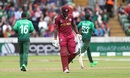 Andre Russell was out for a two-ball duck, Bangladesh v West Indies, World Cup 2019, Taunton, June 17, 2019