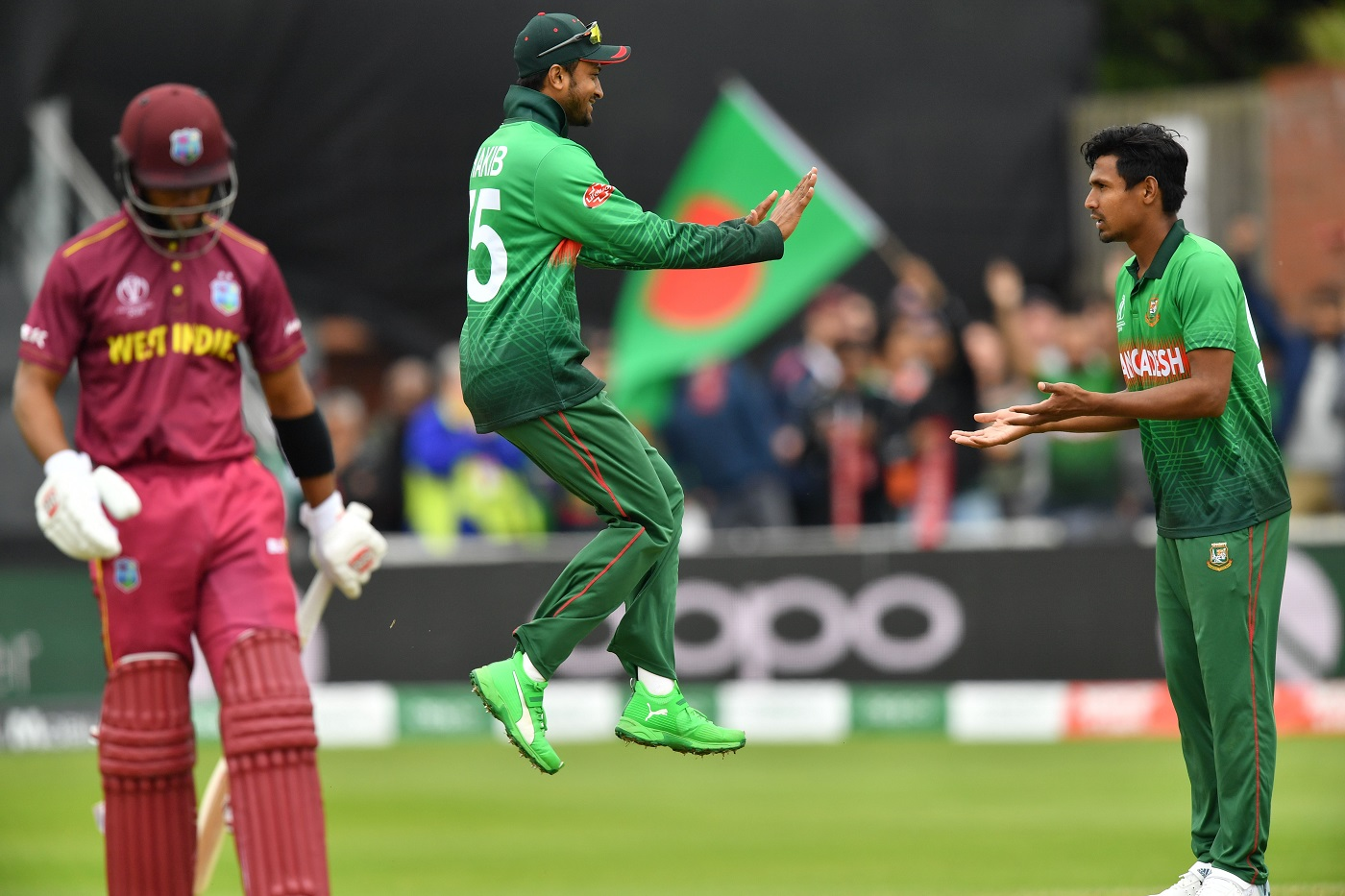 Bangladesh defeat West Indies by 7 wickets in 23rd match of 2019 World Cup